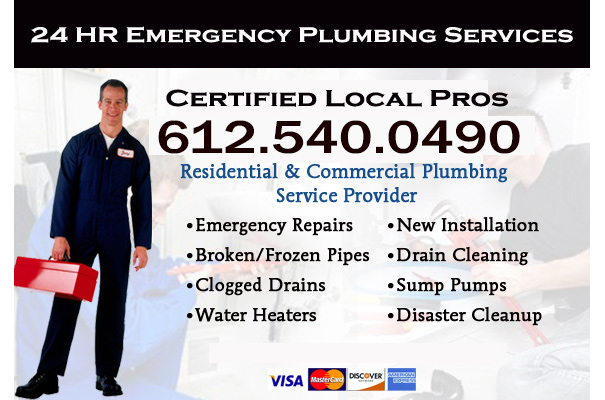 Minnetonka emergency plumbers